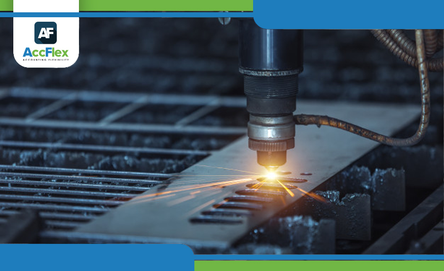 دورة عمل برنامج التصنيع من منظومة برامج حسابات أكفليكس من حيث الاعدادات والتقارير